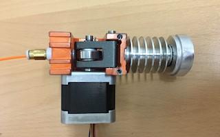 STP 3D extruder